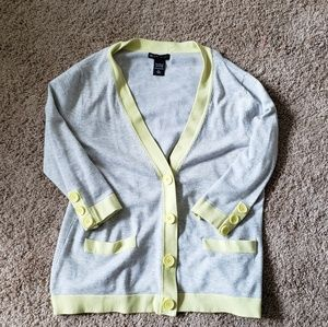 Gray New York and company cardigan